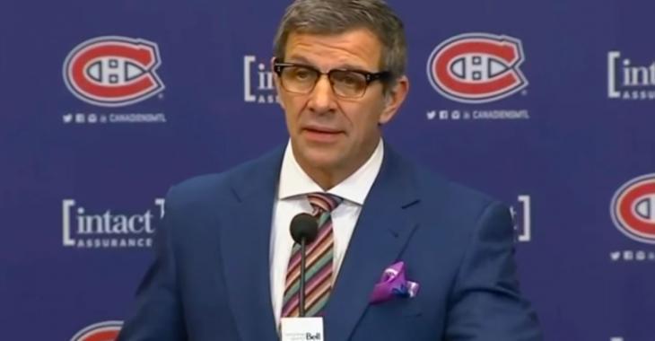 Rumeur: Des équipes appellent le CH concernant une possibilité d'échange inattendue