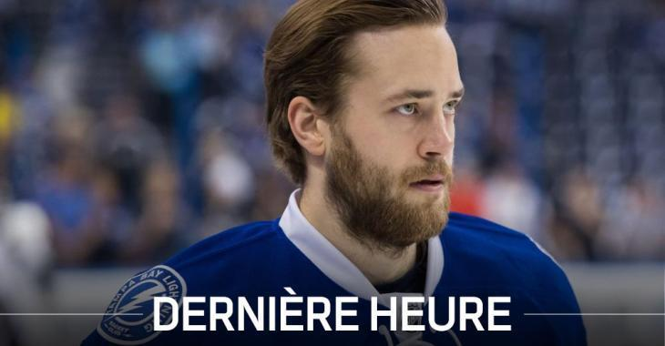 DERNIÈRE HEURE: Une blessure inquiétante pour Victor Hedman!