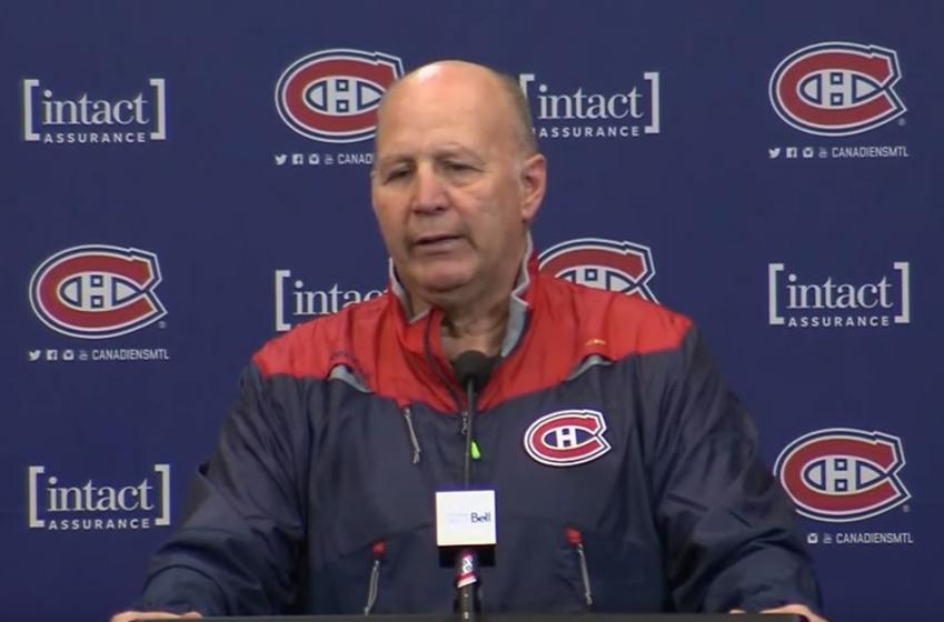 Claude Julien revient sur l'attitude de ses joueurs dans le vestiaire!