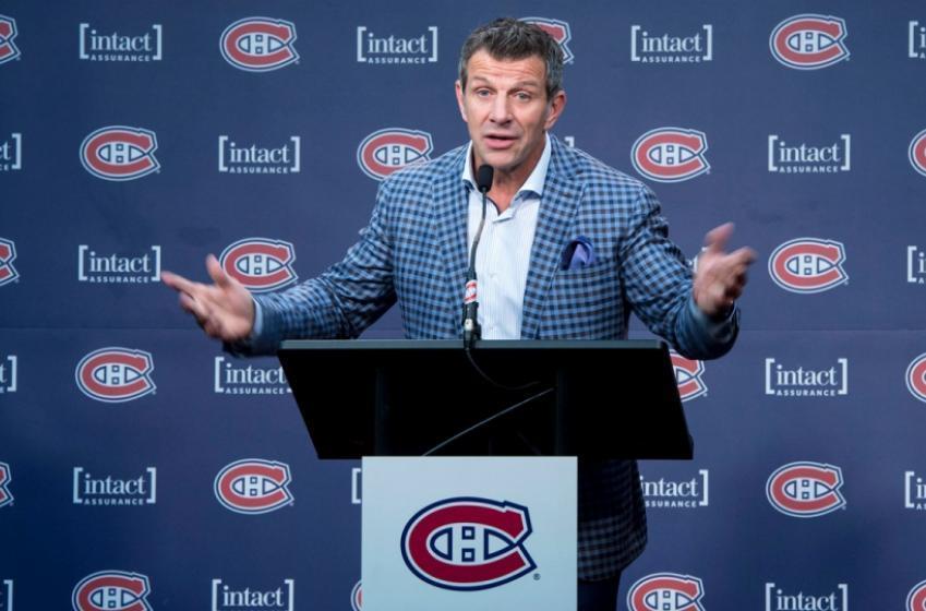 Marc Bergevin s'est fait demander s'il a peur pour sa job, en conférence de presse