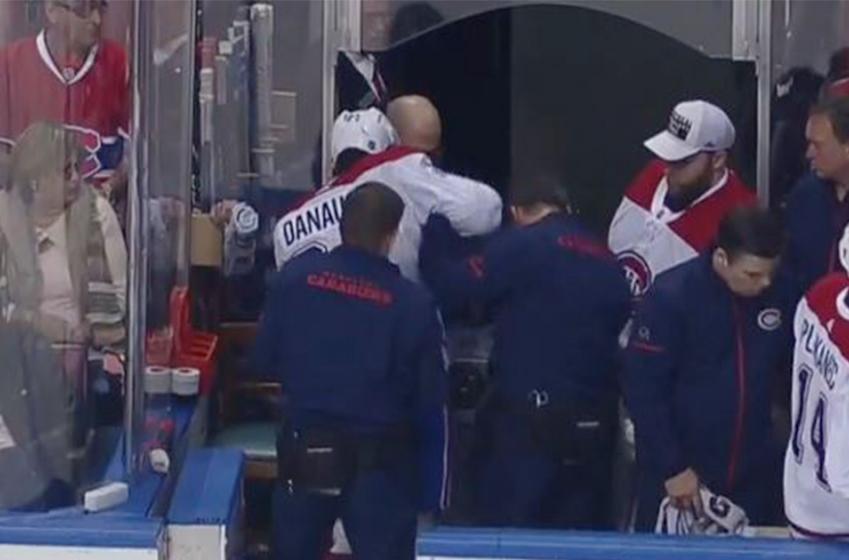 DERNIÈRE HEURE : Danault quitte le match en douleur!