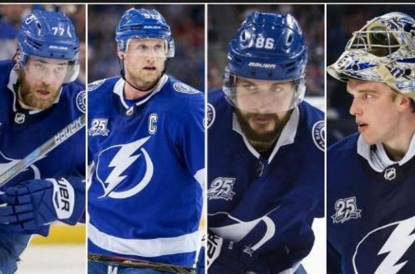 Les joueurs du Lightning posent deux gestes incroyables!